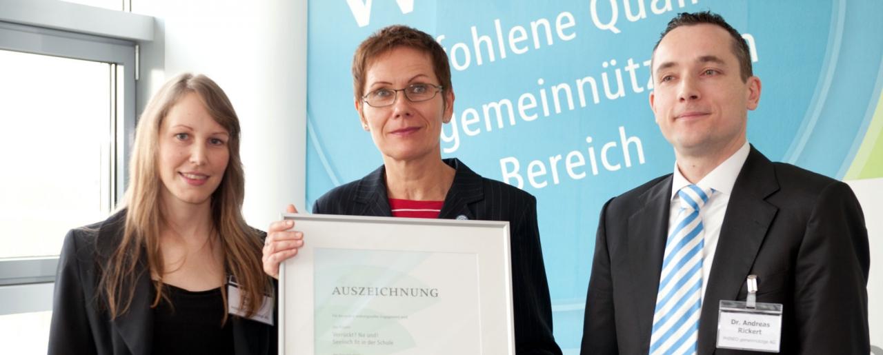Auszeichnungen für Irrsinnig Menschlich e.V.