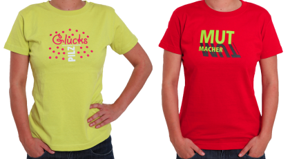T-Shirts: Material von Irrsinnig Menschlich e.V.