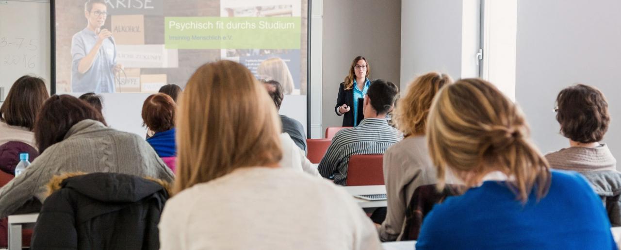Psychisch fit durchs Studium-Forum: Die Veranstaltung im Detail