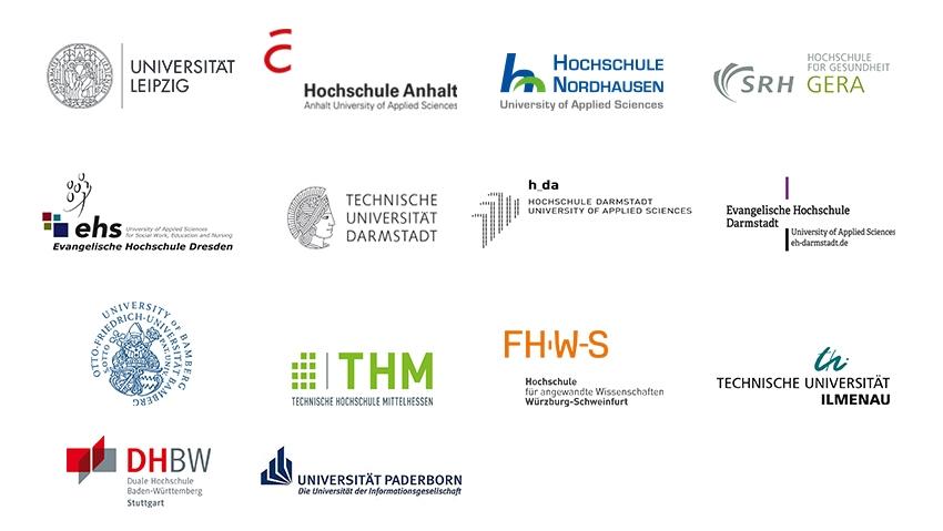Teilnehmende Hochschulen
